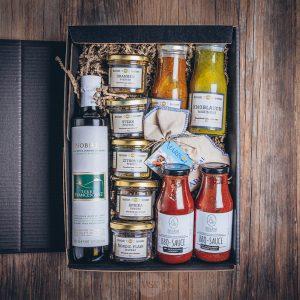 Präsentkorb grosse Grillbox Münsterländer Speisekammer