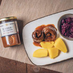 Glas Rinder-Rouladen aus der Münsterländer Speisekammer