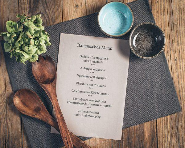 Kochkurs italienische Menü