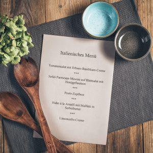 Kochkurs italienisches Menü