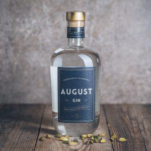 Flasche August Gin