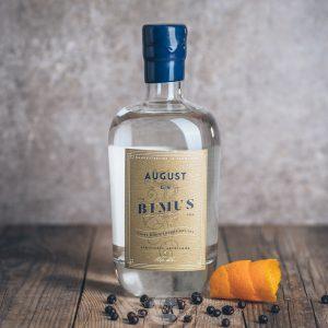 Flasche August Bimus Gin