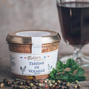Glas Belesa Geflügelpastete - Terrine de Volaille