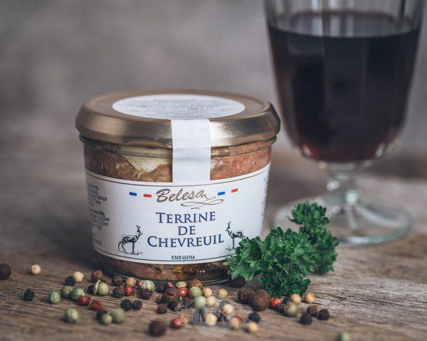 Glas Belesa Rehpastete - Terrine de Chevreuil
