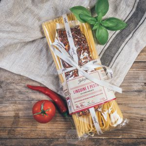 Packung Bellezini Linguine e Pesto all Arrabiata