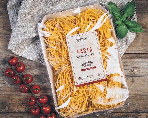 Packung Bellezini Pasta Tagliatelle
