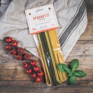 Packung Bellezini Spaghetti tricolore