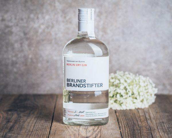 Flasche Berliner Brandstifter Dry Gin