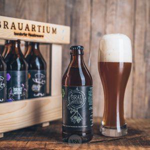 Flasche Brauartium 4 Hopfen Weisse Bier