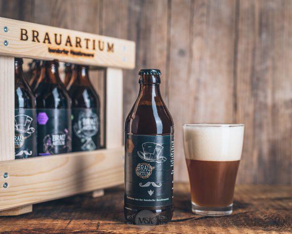 Flasche Brauartium Pale Ale Bier