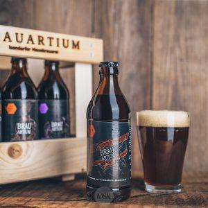 Flasche Brauartium Red Ale Bier