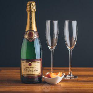 Flasche Champagne Veuve Noizieres