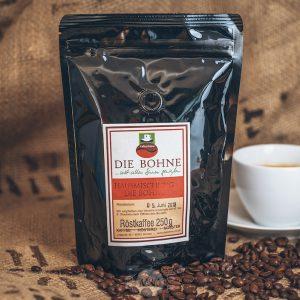 Packung Die Bohne Kaffee Hausmischung