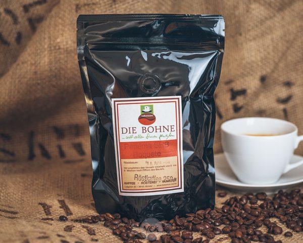 Packung Die Bohne Kaffee Panama SHB Boquete