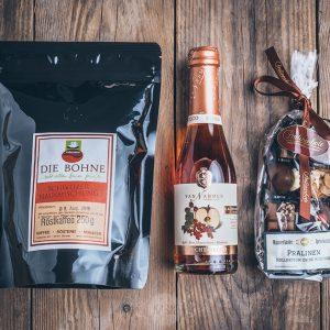 Präsent Geschenktüte kleine Kaffeetüte von der Münsterländer Speisekammer