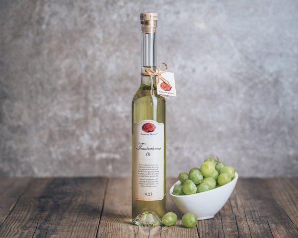 Flasche Gourmet Berner Traubenkern-Öl