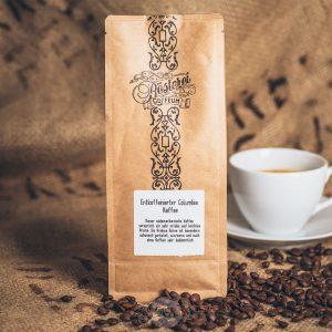 Packung Kaffee entkoffeiniert aus dem Hamburger Cafehaus