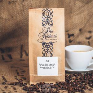 Packung Kaffee Java aus dem Hamburger Cafehaus