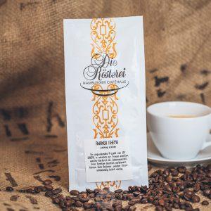 Packung Kaffee Rwanda Ishema aus dem Hamburger Cafehaus