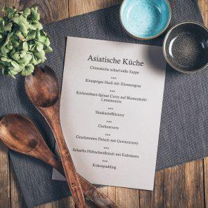 Kochkurs Asiatische Küche in der Münsterländer Speisekammer