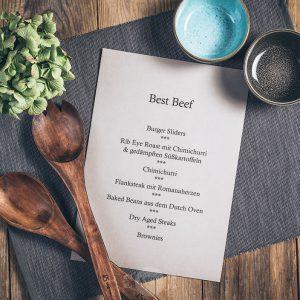 Kochkurs Best Beef in der Münsterländer Speisekammer