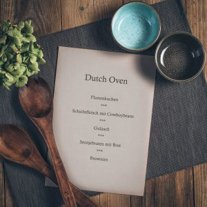 Kochkurs Dutch Oven