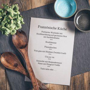 Kochkurs Französische Küche in der Münsterländer Speisekammer