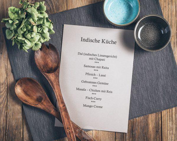 Kochkurs Indische Küche in der Münsterländer Speisekammer