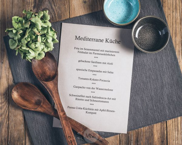 Kochkurs Mediterrane Küche in der Münsterländer Speisekammer