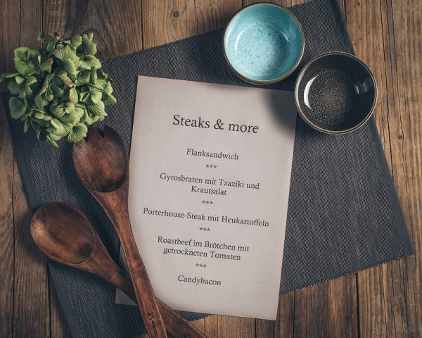 Kochkurs Steaks and more