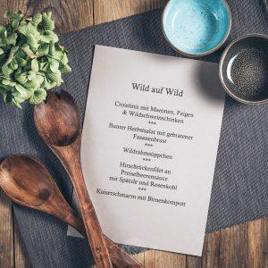 Kochkurs Wild auf Wild in der Münsterländer Speisekammer