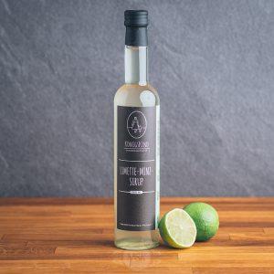 Flasche Königskind Limette-Minz-Sirup