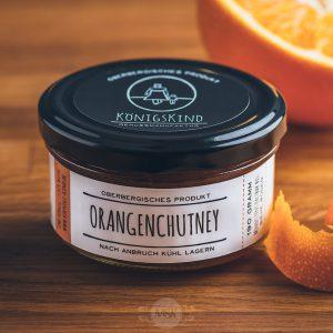 Glas Königskind Orangenchutney