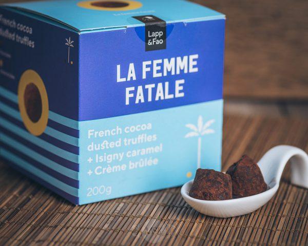 Lapp & Fao La Femme Fatale Schokoladentrüffel