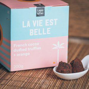 Lapp & Fao La Vie Est Belle Schokoladentrüffel