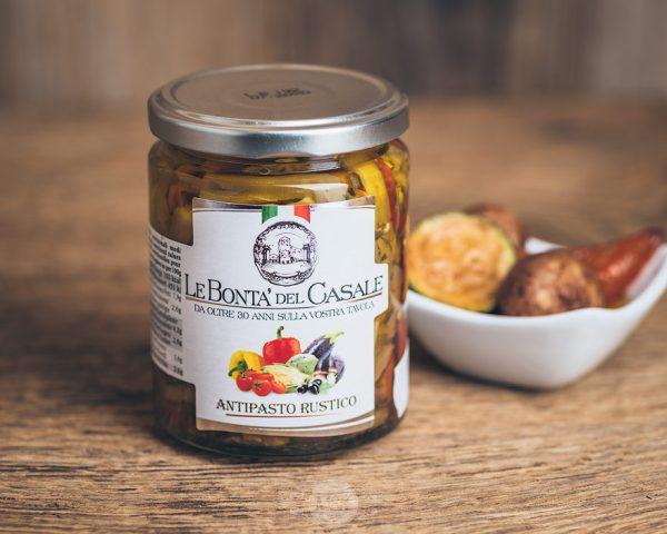 Glas italienisches Gemüse von Le Bonta´del Casale - Antipasti rustico