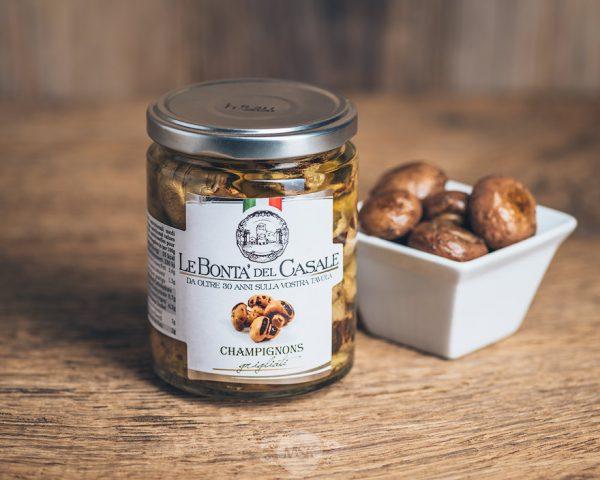 Glas gegrillte Champignons von Le Bonta´del Casale - Champignons grigliati