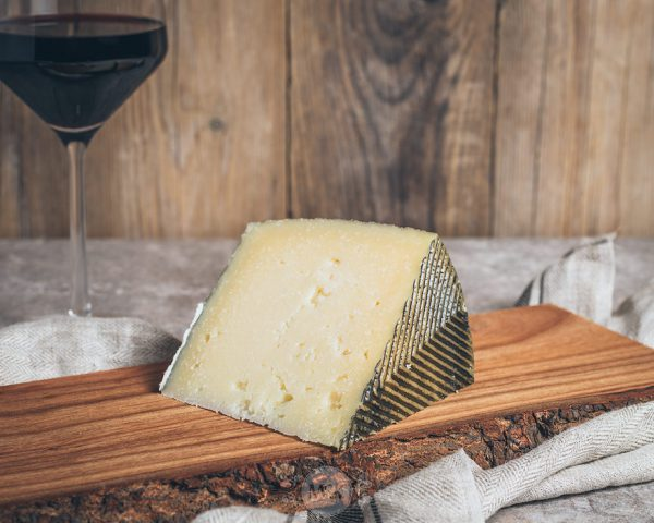 Stück Manchego Käse
