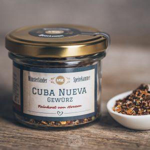 50 Gramm Glas Cuba Nueva Gewürz von der Münsterländer Speisekammer