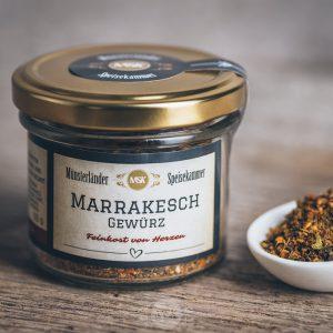 Glas Marrakesch Gewürz von der Münsterländer Speisekammer