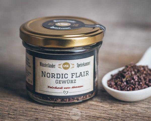 Glas Nordic Flair Gewürz von der Münsterländer Speisekammer