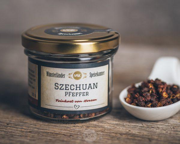 20 Gramm Glas Szechuan-Pfeffer von der Münsterländer Speisekammer