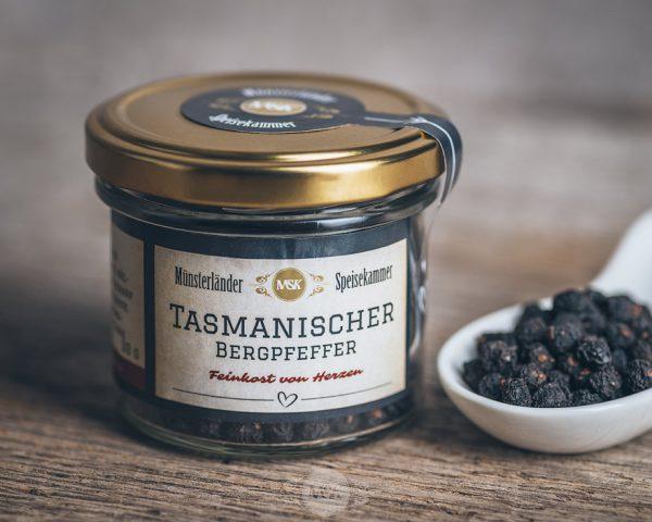 Glas Tasmanischer Bergpfeffer von der Münsterländer Speisekammer