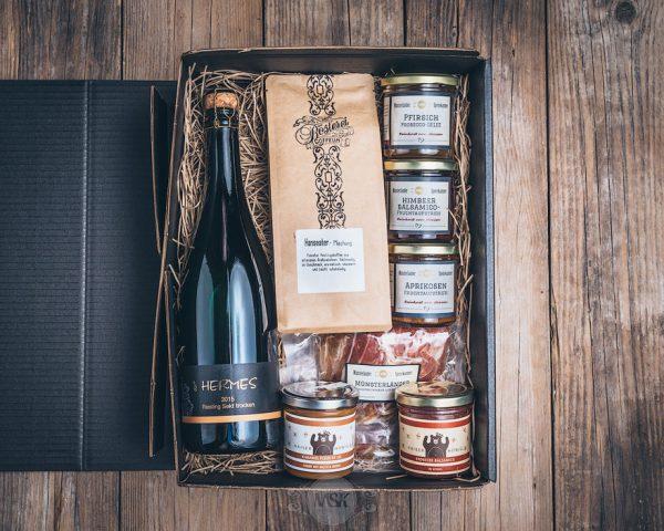Präsent Frühstücksbox von der Münsterländer Speisekammer
