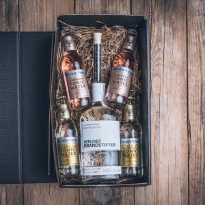 Präsent Gin-Box von der Münsterländer Speisekammer