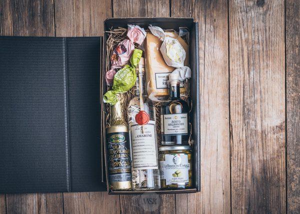 Präsent Grappa-Box von der Münsterländer Speisekammer