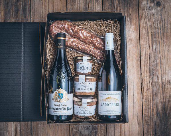 Präsentkorb großer Franzose von der Münsterländer Speisekammer