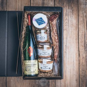 Präsentkorb kleiner Franzose von der Münsterländer Speisekammer