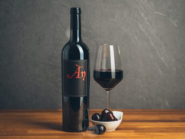 Flasche Rotwein ÀN Ànima Negra Mallorca
