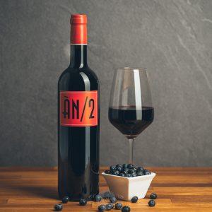 Flasche Rotwein ÀN/2 Ànima Negra Mallorca